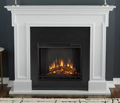 com real flame 5010e w thayer electric fireplace white home kitchen