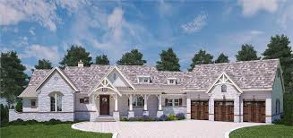 luxurious country ranch house plan 106 1283