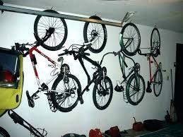 best horizontal bike rack diy way to hang bikes in garage storage mount hanging wall
