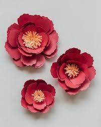 Peony Paper Flower Bnbhk Diy Wedding Paper Flower Peony Chinese Teaceremony 022