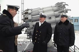 Lithuanian Navy Senior Chief Yeoman Michailas Karpuzovas