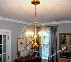 large orb chandelier in gold ballard designs 399