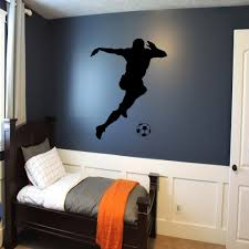 Soccer Bedroom Decorations Bedroom Ideas With Wall Lamps Imanada Contemporary Kids Decorated