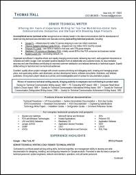 Resume Best Practices This Technical Writer Resume Example Illustrates Many Best Practices