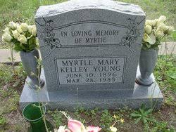 Myrtle Mary Kelley Young (1896-1985) - Find A Grave Memorial