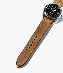 leather watch bands gear patrol bas and loks