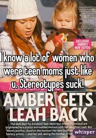 Other teen moms just knowing