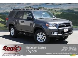 2012 Toyota 4Runner Trail 4x4 in Magnetic Gray Metallic - 095603 ...
