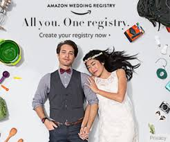 Image result for amazon wedding registry