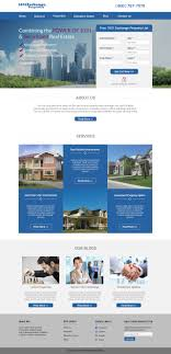 Property Web Design Mockup For A Construction Company Web Design Property