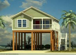 beautiful beach house plans on stilts pilings new fair 70