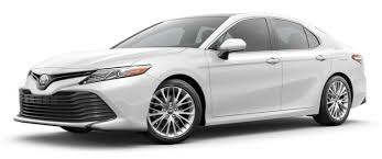 2019 Toyota Color Chart 2019 Toyota Camry Color Options