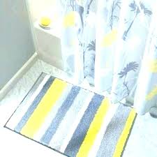 yellow and gray bath towels bathroom rugs runner rug striped sets golden