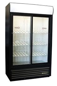 true gdm 41sl sliding glass 2 door commercial cooler refrigerator merchandiser