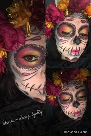 mexican sugar skull hair makeup byabby skeleton makeup tutorial makeup sugar skull day