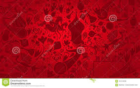 Russisch Rood Behang Vectorillustratie Vector Illustratie