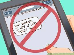 Sdan flirter du p SMS Vi Unge