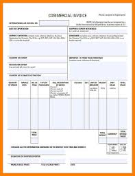 Commercial Invoice Sample.export Invoice Format Export Invoice ...