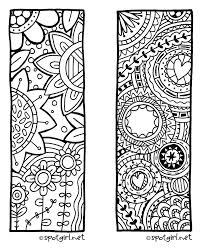 Bookmark Coloring Pages Free Printable Coloring Bookmarks