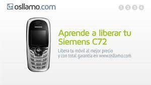 Liberar tu Siemens C72 - YouTube