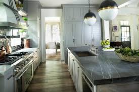 luxury black marble countertops 75 home kitchen design with inside plan 17