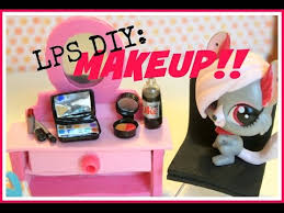 lps diy how to make doll makeup part 1 you