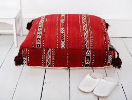 Floor Pillows And Poufs Moroccan Floor Cushions
