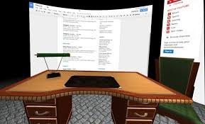 Design your own office space Office Desk lightvr Wants You To Create Your Own Personalized Virtual Office Space Uploadvr Lightvr Wants You To Create Your Own Virtual Office Space