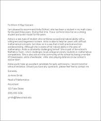 Writing A College Recommendation Letter For College Admissions College Reference Letter Template