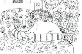Dachshund Coloring Page Dachshund Coloring Sheets Kids Page Pictures