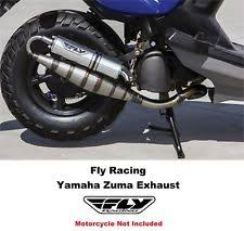 yamaha zuma 50cc. fly racing yamaha zuma exhaust 02 03 04 05 08 09 10 13 cw50 yw50 scooter 50cc