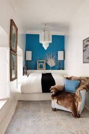 bedroom design uk. Contemporary Design Small Bedroom Design With A Blue Feature Wall And Modern Lighting With Bedroom Design Uk U