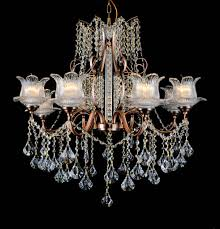 b s lighting b s lighting 5399 8 light w30xh33 inch crystal chandelier