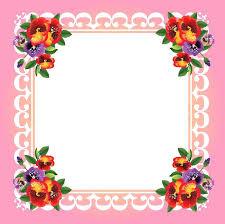 frame design flower. beautiful frame design flower