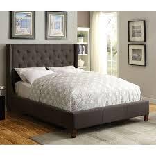 upholstered bed grey. Owen Upholstered Bed-Grey Bed Grey
