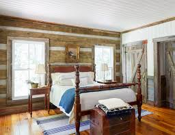 Nice Wooden Four Poster Bed French Country Bedroom Decor Nice Comfort Bed  Rustic Wooden Headbord Bed Skirt Stove Fireplace