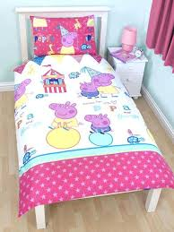 peppa pig toddler bed set duvet covers surprising idea pig toddler duvet cover bedding sets ay