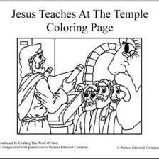 Small Picture Jesus Teaching In The Synagogue Coloring Page Coloring Page Of