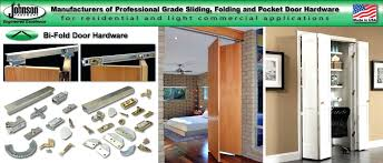 johnson bifold closet door hardware post