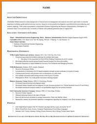 Font Size For A Resume Financial Controller Sample Resume