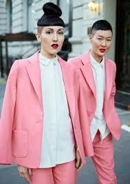 Michelle Harper & Jenny Shimizu - Racked   Fashion, Pink suit, Style