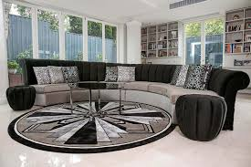 modern art furniture. Bespoke Curved Sofa Modern Art Deco Furniture