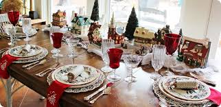 Christmas Table-Bargain Decorating with Laurie