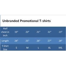 Standard T Shirt Size Chart India Dreamworks