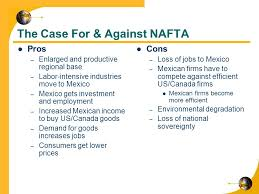 myeconomicsclass unit international economics image result for nafta pros and cons