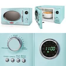 Микроволновая печь nostalgia rmo4aq retro 800 watt countertop microwave oven 0 9 cu ft aqu 264060875790 купить на com США с доставкой в
