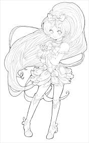 Small Picture Anime Coloring LayoutColoringPrintable Coloring Pages Free Download