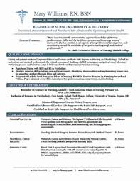New Grad Nursing Resume Templates Awesome Nursing Resumes Skill