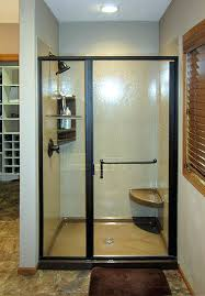 replacing a shower with a bathtub hinged shower door a bathtub replacement and remodel replacing bathtub replacing a shower with a bathtub