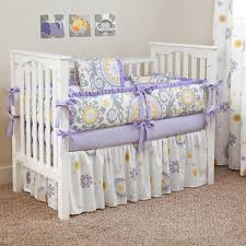 purple nursery bedding sets